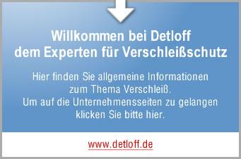 Detloff - Experte für Verschleißschutz